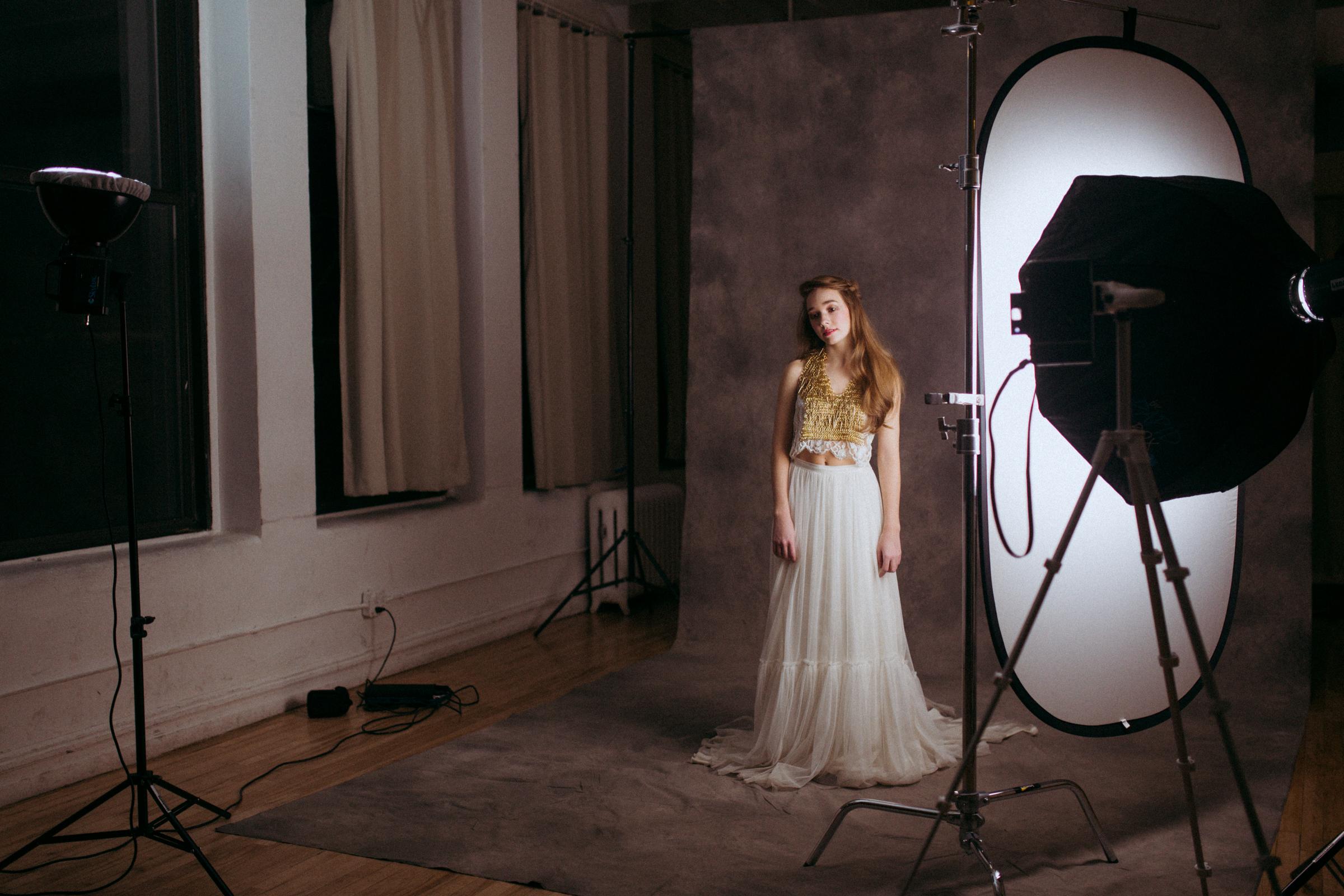 behind the scenes with holly taylor emily soto fashion